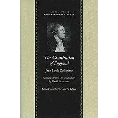 Constitution of England (Hardcover)