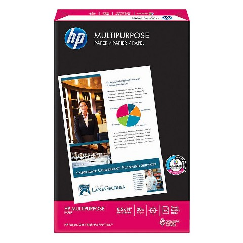 HP 500ct Legal Printer Paper