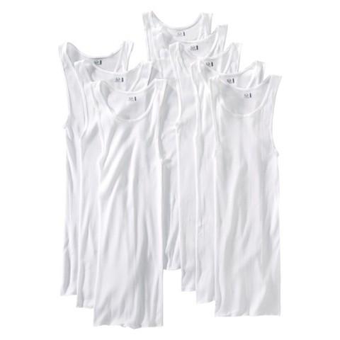 Fruit of the Loom® Men's 8Pk A-Shirt - White