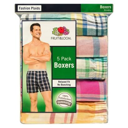 Fruit of the Loom® Men's 5Pk Boxers - Heather