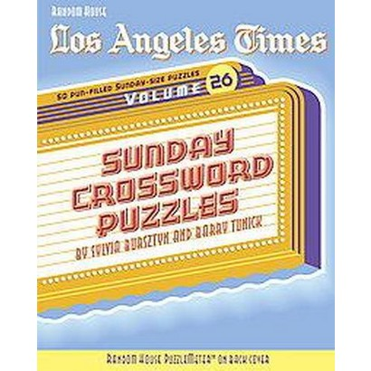 Los Angeles Times Sunday Crossword Puzzles (26) (Paperback)