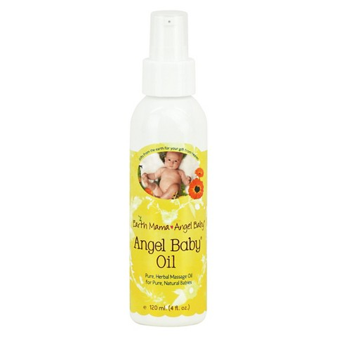 Earth Mama Angel Baby Oil - 4 oz.