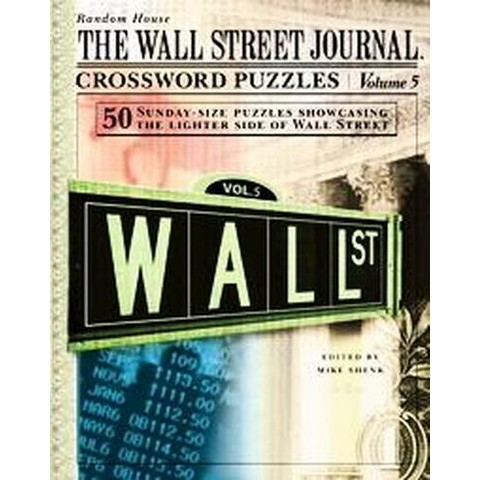 The Wall Street Journal Crossword Puzzles (5) (Spiral)