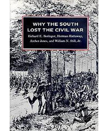 the reason why the south lost the civil war One hundred fifty years after the civil war began, we're still fighting over its meaning and there is little agreement even about why the south the main reasons for secession were portrayed as high tariffs and northern states using southern tax money to build their.