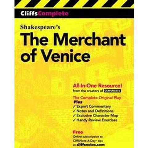 Cliffscomplete Merchant of Venice (Paperback)