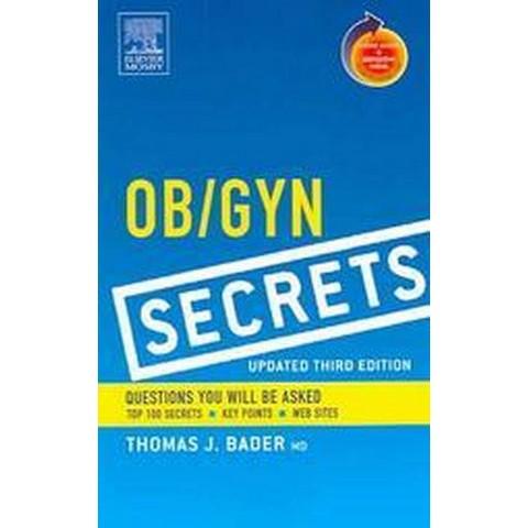 Ob/Gyn Secrets (Updated) (Paperback)