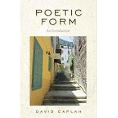 Poetic Form (Paperback)