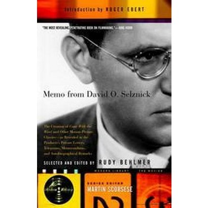 Memo from David O. Selznick (Paperback)
