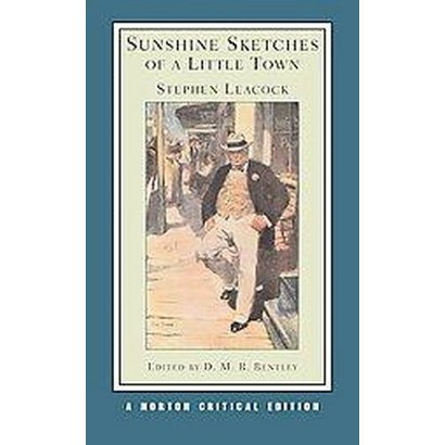Sunshine Sketches of a Little Town (Paperback)