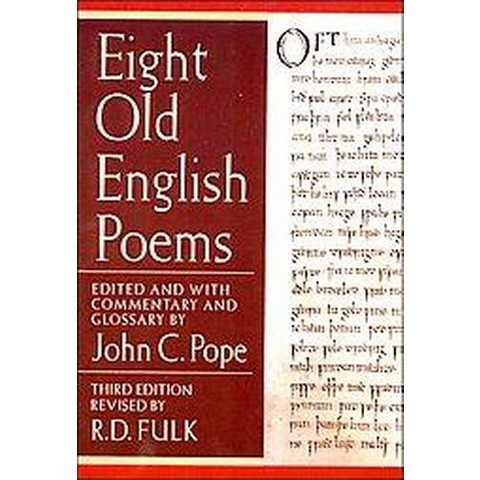 Eight Old English Poems (Paperback)