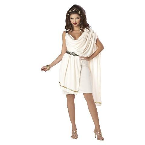 Women's Classic Toga Deluxe Costume