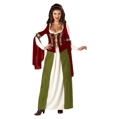Women's Maid Marian Costume