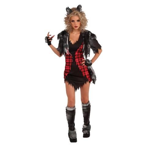 Women's She Wolf Costume