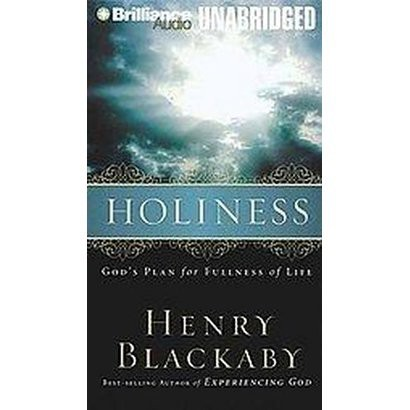 Holiness (Unabridged) (Compact Disc)