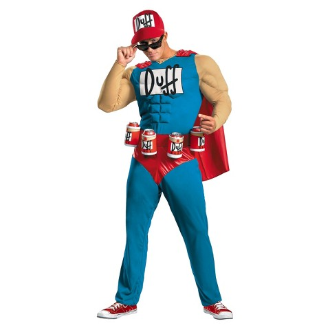 Men's The Simpsons - Duffman Classic Muscle Costume