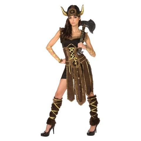 Women's Striking Viking Costume
