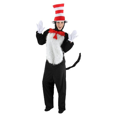 Men's Dr. Seuss - Cat in the Hat Deluxe Costume