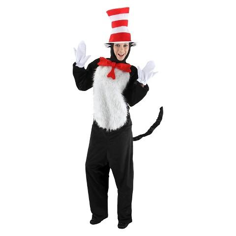 Men's Dr. Seuss - Cat in the Hat Deluxe Costume