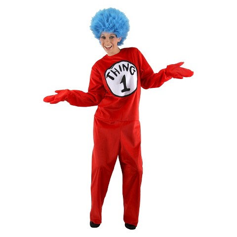 Adults Dr. Seuss - Thing 1 and 2 Costume