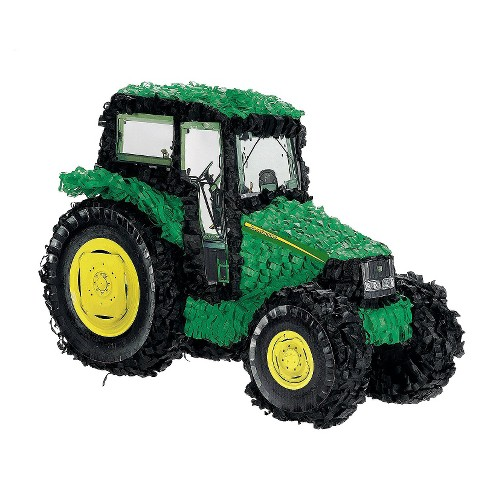 John Deere Tractor Birthday Party Pinata