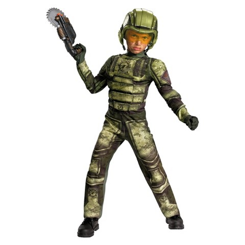 Boy's Foot Soldier Muscle Costume