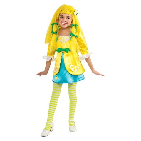 Toddler/Girl's Strawberry Shortcake Lemon Meringue Deluxe Costume