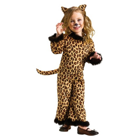 Infant/Toddler Girl Pretty Leopard Costume