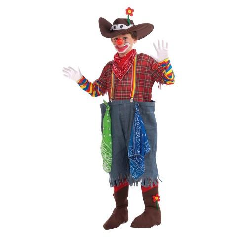 Boy's Rodeo Clown Costume