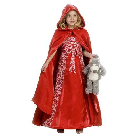 Girl's Princess Red Riding Hood Costume