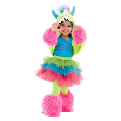 Girl's Uggsy Monster Costume