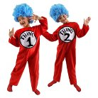 Kid's Dr. Seuss - Thing 1 and 2 Costume