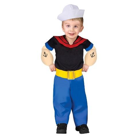 Toddler Popeye Costume