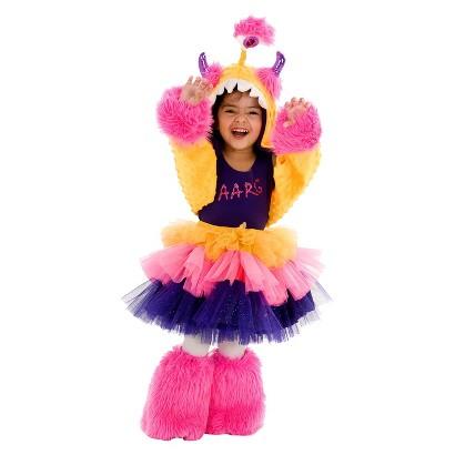 Girl's Aarg Monster Costume
