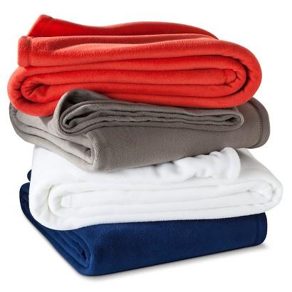 Room Essentials® Microfleece Blanket