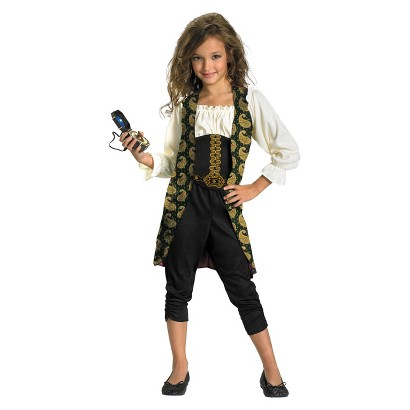 Girl's Pirates of the Caribbean 4 - Angelica Costume