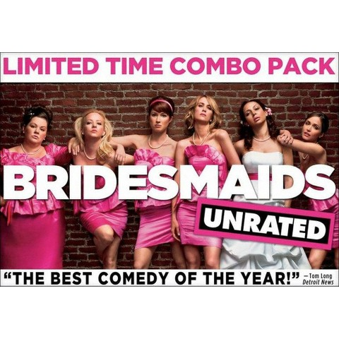 Bridesmaids (Rated/Unrated) (2 Discs) (Includes Digital Copy) (DVD/Blu-ray) (W)