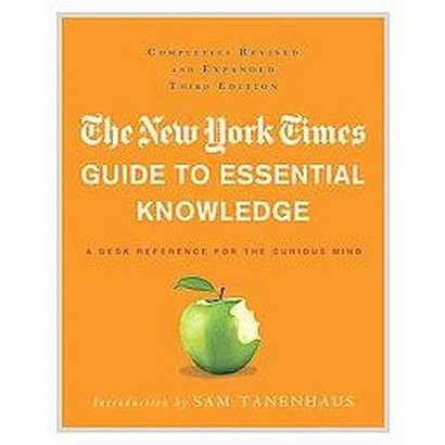 The New York Times Guide to Essential Knowledge (Revised / Expanded) (Hardcover)