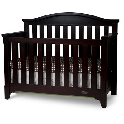 Child Craft Hawthorne 4-in-1 Convertible Crib - Espresso