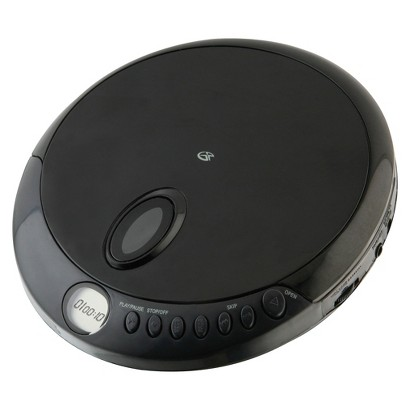 GPX Portable Compact CD Player - Black (PC301B)