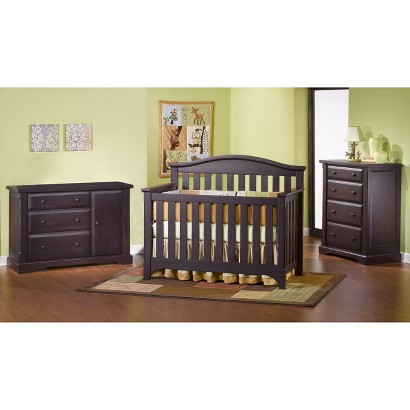 Nursery Furniture : Childcraft Hawthorne Nursery Furniture Collection - Espresso