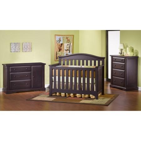 Childcraft Hawthorne Nursery Furniture Collection Espresso Target