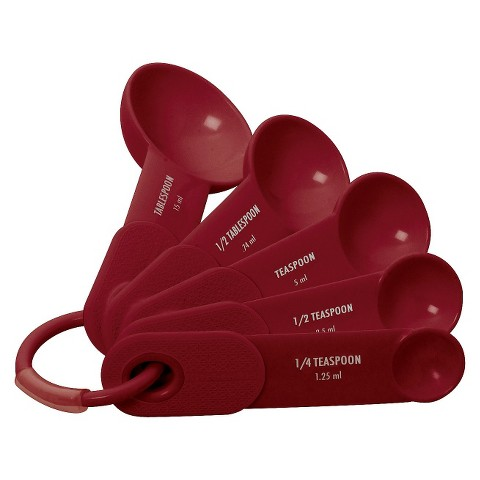 KitchenAid® Measuring Spoons - Red