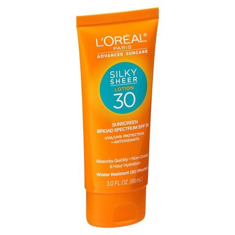 L'Oreal® Paris Advanced Suncare Silky Sheer Lotion SPF 30 - 3 fl  oz