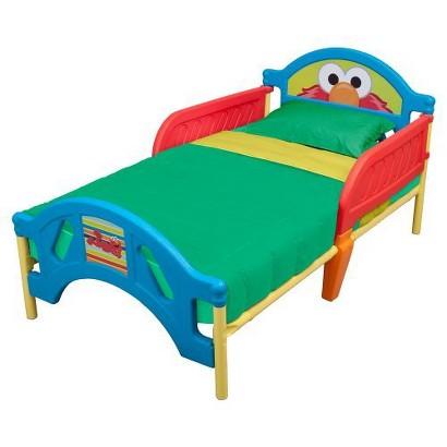 Disney Toddler Bed -  Sesame Street