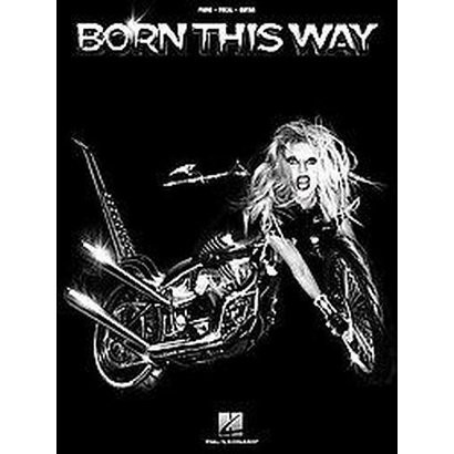 Lady Gaga, Born This Way (Paperback)