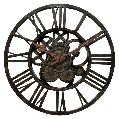 Gear Styled Wall Clock