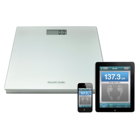 iHealth Scale for iPhone®/iPod®/iPad® - Silver (HS3)