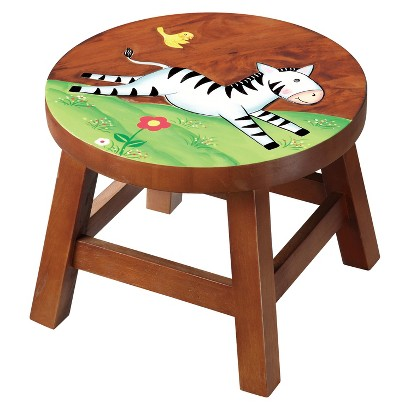 Teamson Stool Zebra