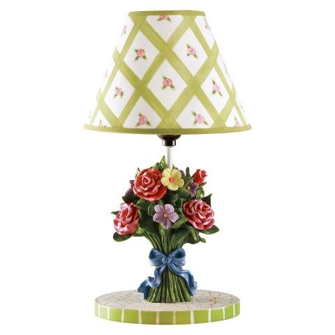 Teamson Kids Table Lamp - Bouquet