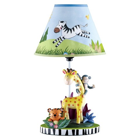 Teamson Kids - Table Lamp - Sunny Safari